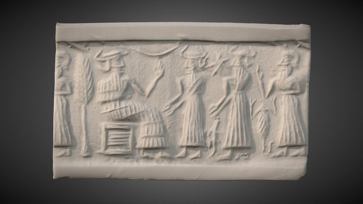 Cylinder seal rollout [NBC5993] 3D Model