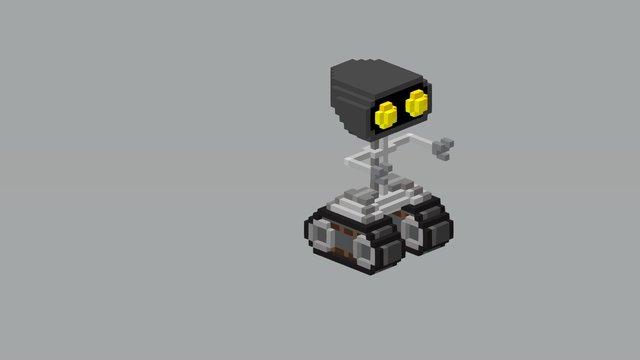 Rob the robot 3D Model