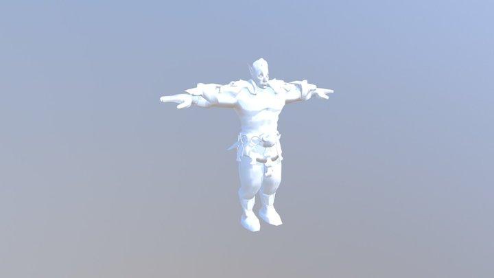 Zip Textures2 3D Model