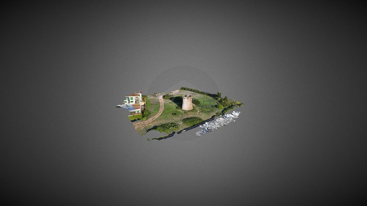 TORRE DE DEFENSA DE SON DURI // SA RAPITA  2016 3D Model