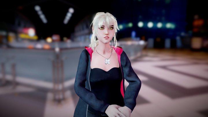 Saber Alter - Shinjuku version 3D Model