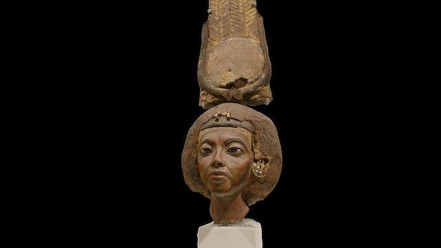 QUEEN TIY, The Nubian Queen of Egypt. 3D Model