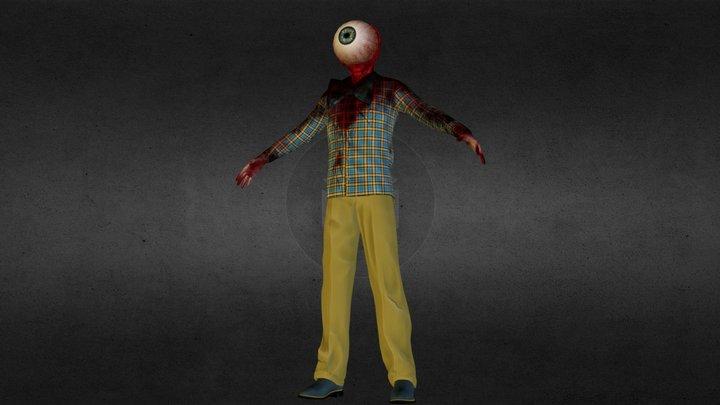 Eye Guy 02 3D Model