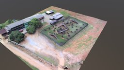 Xtreme Paintball 3D Model