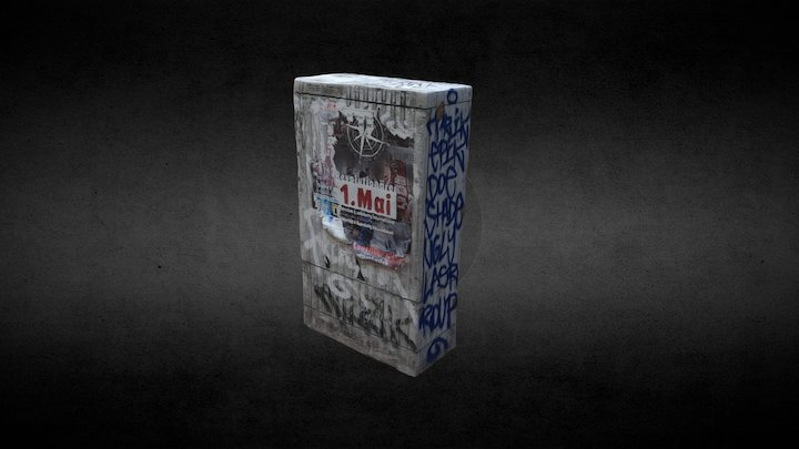 electronic distributor box 3D Model