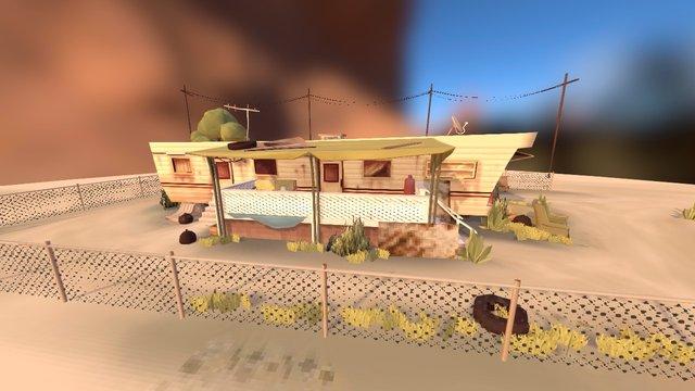 Trevor's trailer 3D Model