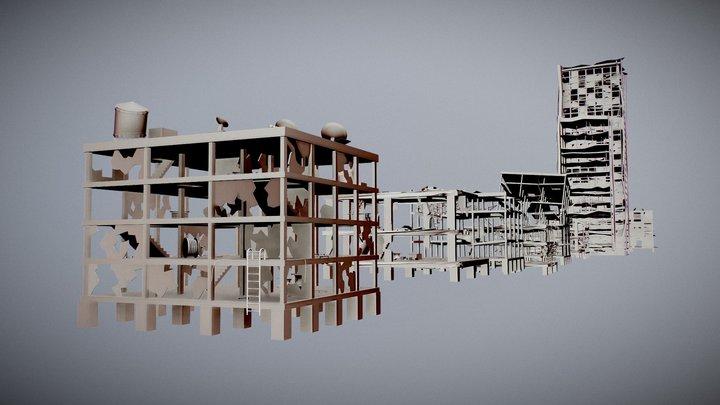 Tornado City 3D Model