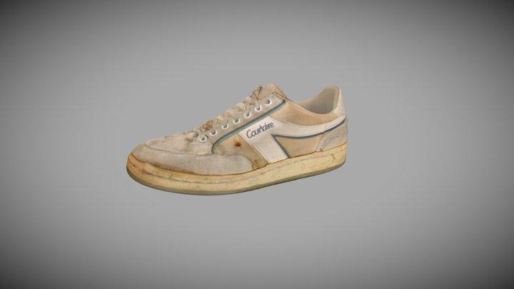 H2014.334.1 Tennis Shoes, Dunlop Sport Courtaire 3D Model