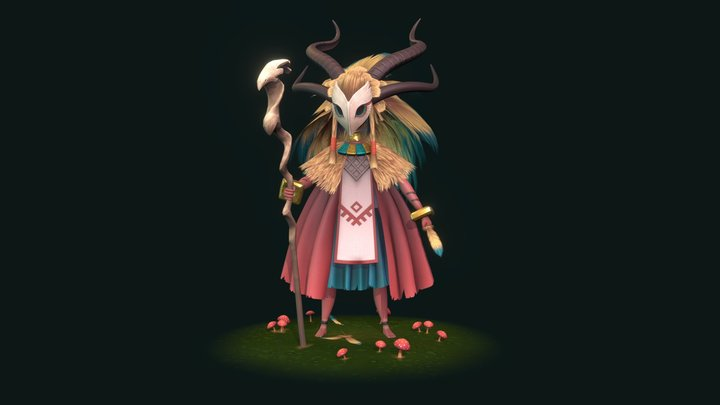 Oracle of the forest 3D Model