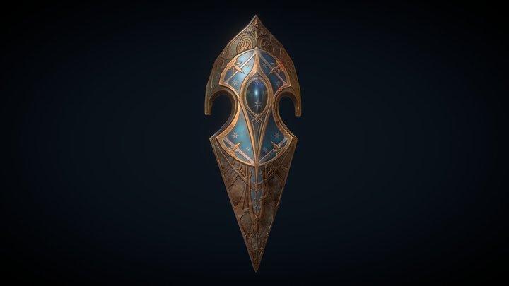 Gil-Galad's Shield 3D Model