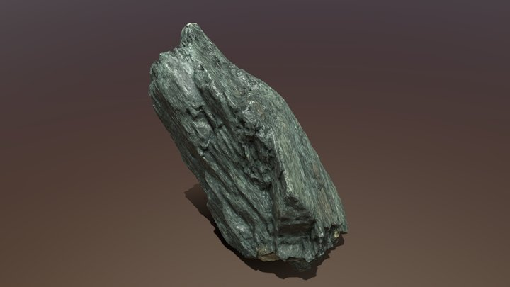 Ox Geo 20 Augite 3D Model