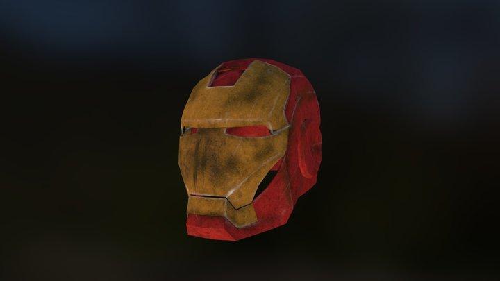 Iron Man Helmet Test 3D Model