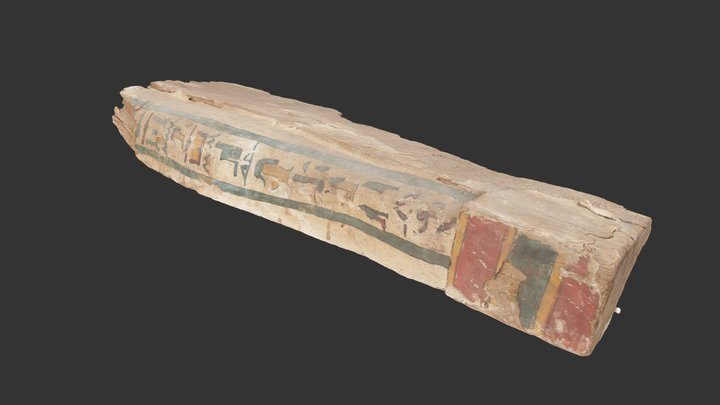 The White Coffin - AA2190.A.16 3D Model
