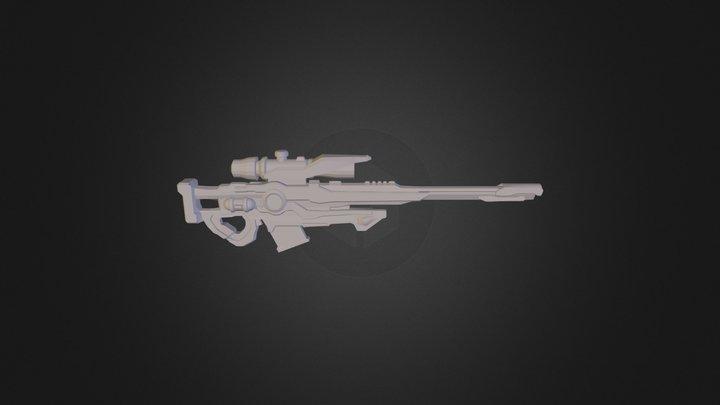 Armas Acidas Sniper 3D Model