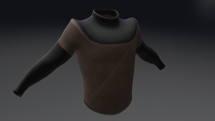 Dead Men Shirt 1 Version 2 3D Model