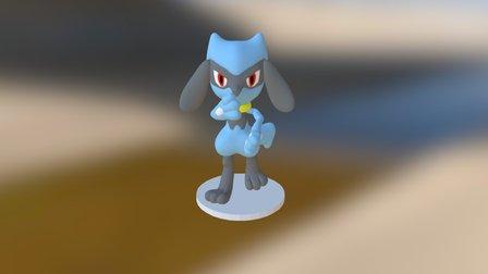 RIOLU Amiibo Edition 3D Model