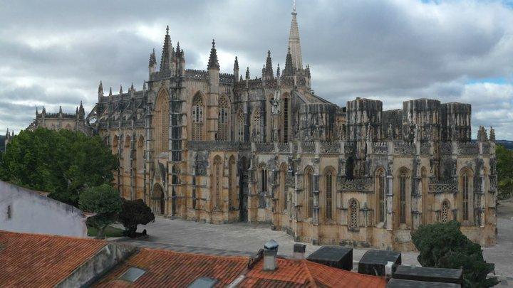 Monastery of Batalha 3D Model
