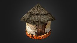 Old Mozambique House 3D Model