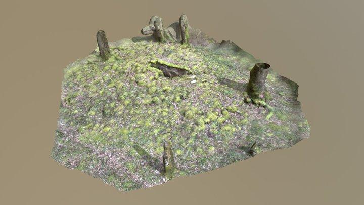Coffre sous tumulus 3D Model