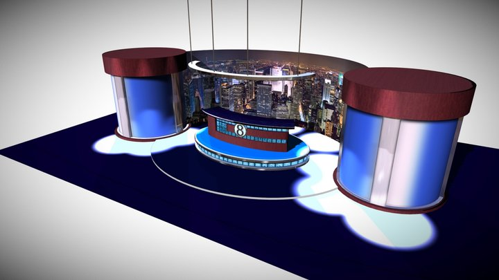 Cheyenne Stasher VR Scene 3D Model