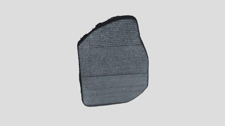 Rosetta Stone (paperweight) 3D Model