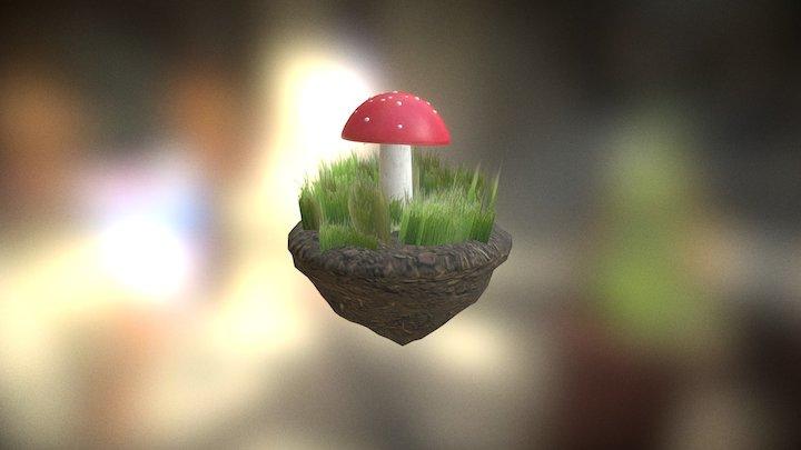 Magic Mushroom 3D Model