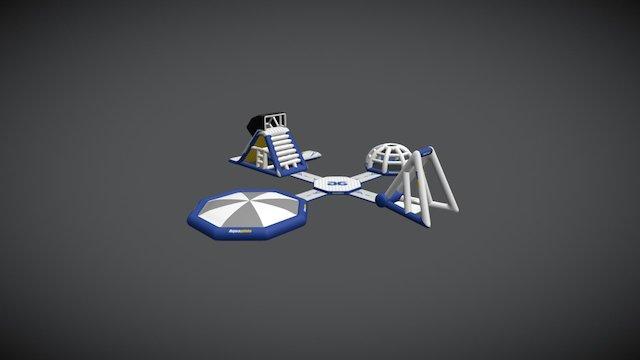 Aquapark 50 3D Model