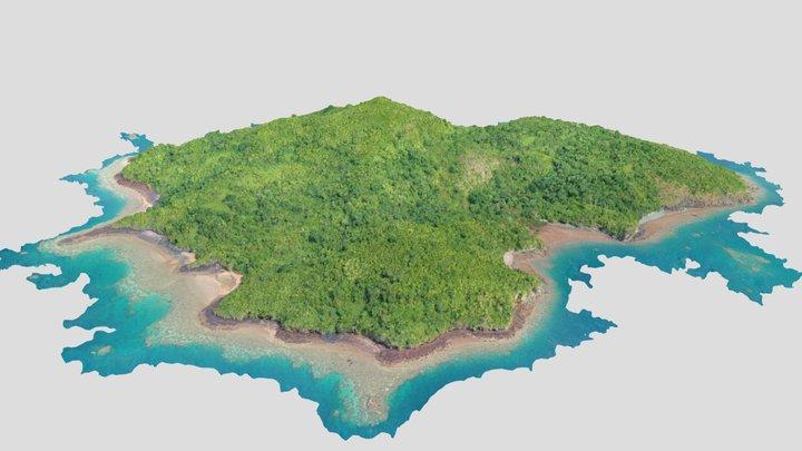 Réserve naturelle de l'ilot Mbouzi (2021) 3D Model