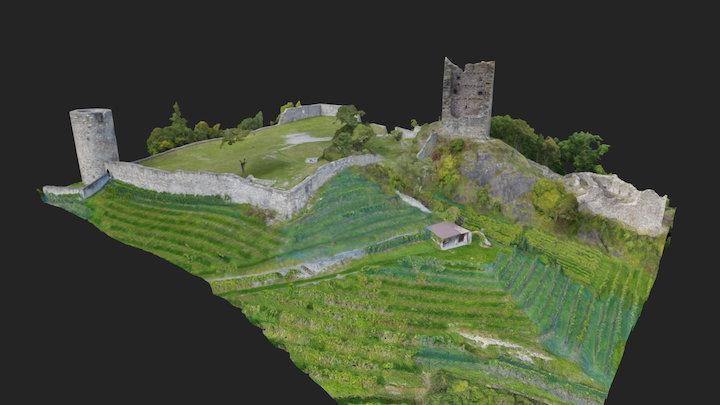 Burgruine Freudenberg 3D Model