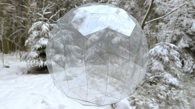 4-Frequency Icosahedron 3D Model