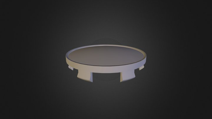 Fondmetal 4000 Centre Cap 3D Model