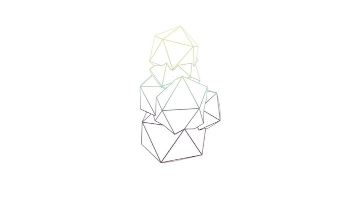 Crystals 3D Model