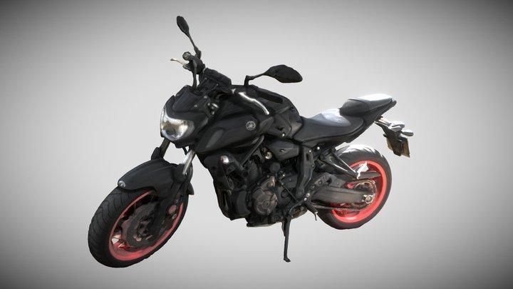 Yamaha GP2 3D Model