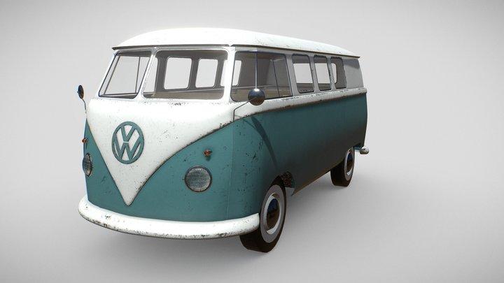 VW Splittie 3D Model