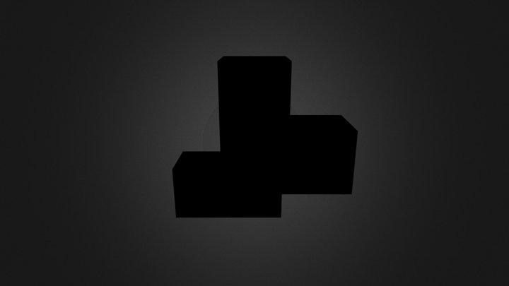 Brown Cube 3D Model