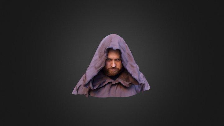 Bryn the Hooded Figure 3D Model