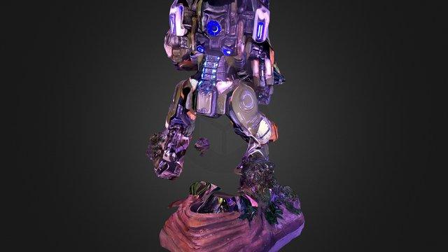 Titanfall 2 Sculpture #E3 (Partial Capture) 3D Model