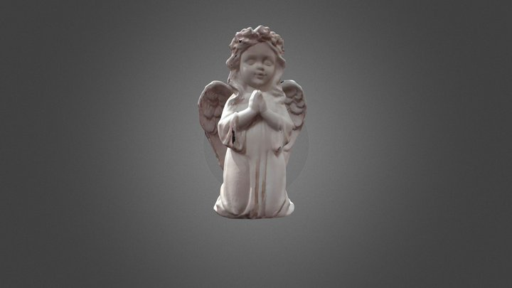 Angel Texture by POP (obj) 3D Model