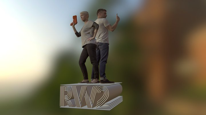 Christine and Ron 3D Model