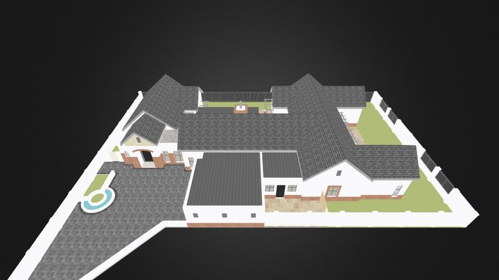 Silverwood- House8-2014-06-20-exterior 3D Model