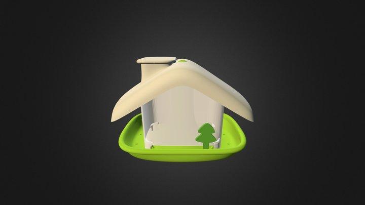 Bird feeder Ubi _ 2015 3D Model