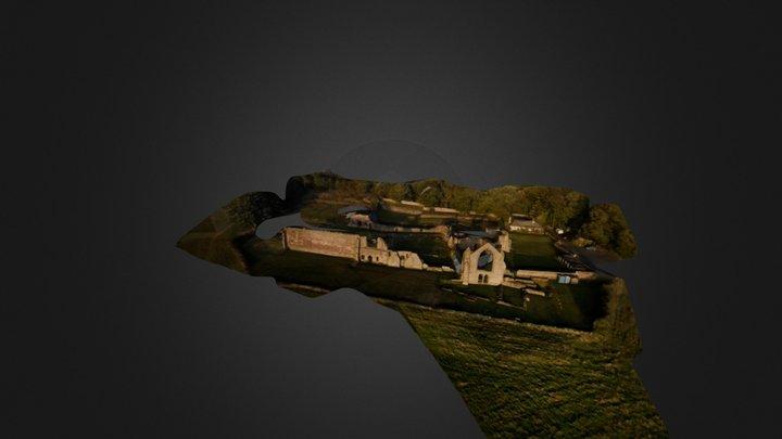 Haughmond Abbey 3D Model