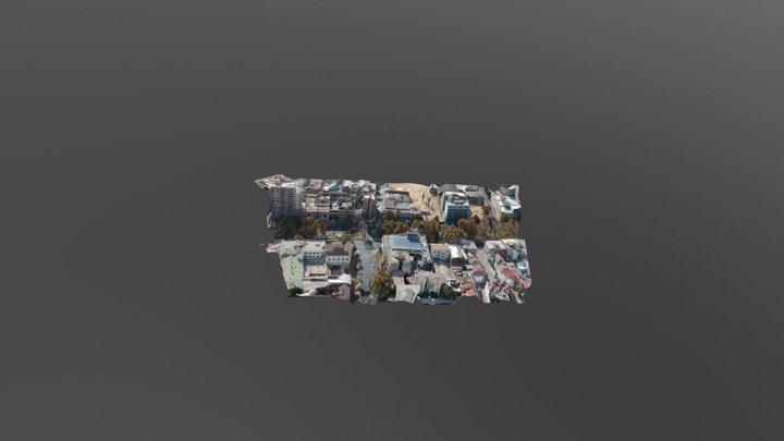 Alameda esquina Av. España, Santiago de Chile 3D Model