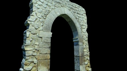 Prueba 3DStudio. Quesada: Arco de los Santos 3D Model
