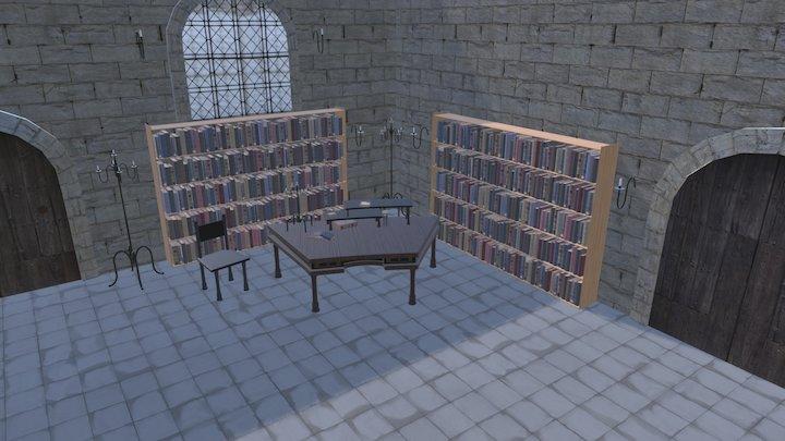 Scene: Wizards Office 3D Model