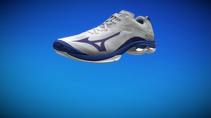 Mizuno | Wave Lightning Z6 - Chinese version 3D Model