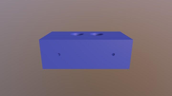 Attachment for HC-SR04 3D Model