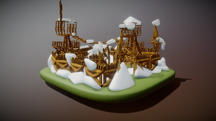 Snowfort 3D Model