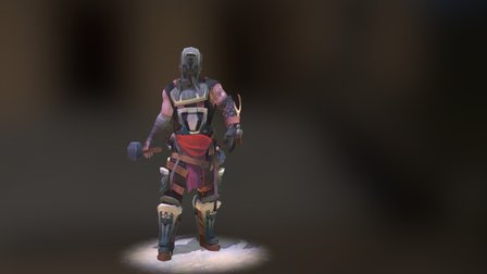 DMU 1st Year Character Project - The Blacksmith 3D Model