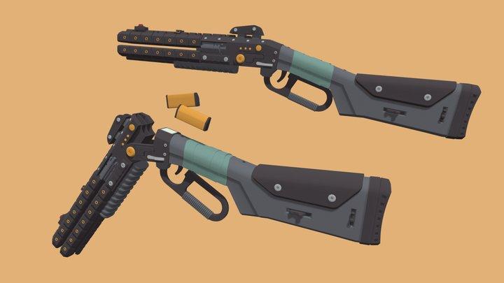 Apex Legends Peacekeeper 3D Model